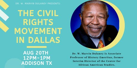 The Civil Rights Movement In Dallas tickets