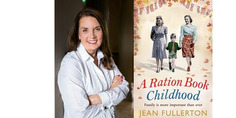 Author talk by Jean Fullerton - Queen of the East End Sagas.   tickets