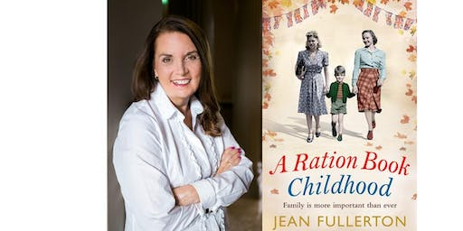 Author talk by Jean Fullerton - Queen of the East End Sagas.
