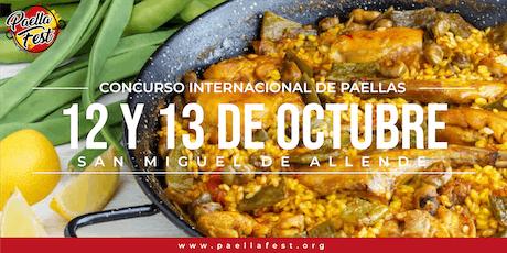 PaellaFest San Miguel de Allende 2019 entradas