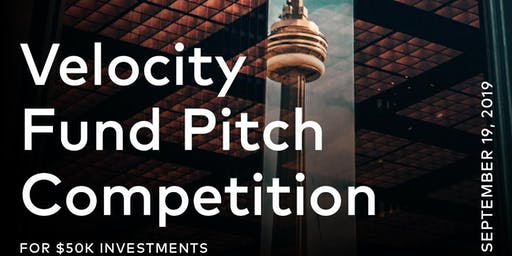 Velocity Fund Pitch Competition - September 2019
