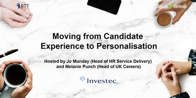 RTT - Moving from Candidate Experience to Personalisation