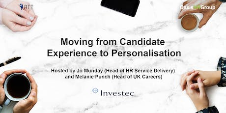 RTT - Moving from Candidate Experience to Personalisation tickets