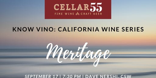 Know Vino -  California Meritage Red Wines