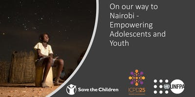 On our way to Nairobi - Empowering Adolescents and Youth