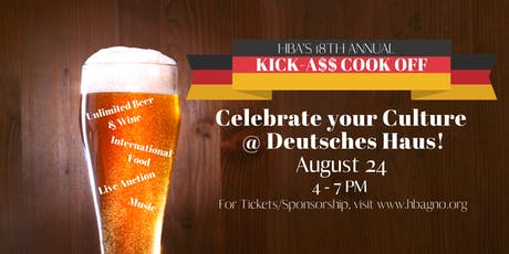 18th Annual Kick-A$$ Cook Off tickets