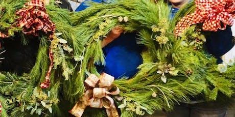 DIY Fresh Christmas Wreath tickets