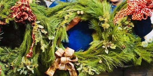 DIY Fresh Christmas Wreath