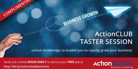 ActionCLUB Taster Session tickets