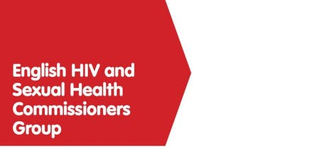 English HIV and Sexual Health Commissioners Group 16.09.19 tickets