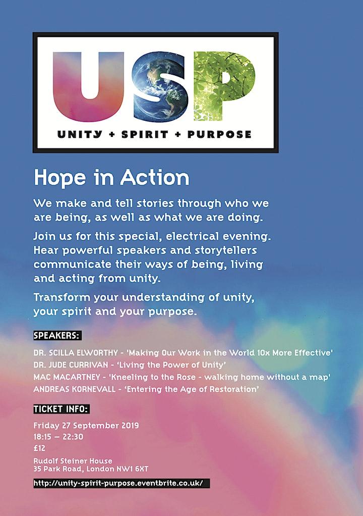 USP Unity - Spirit - Purpose image