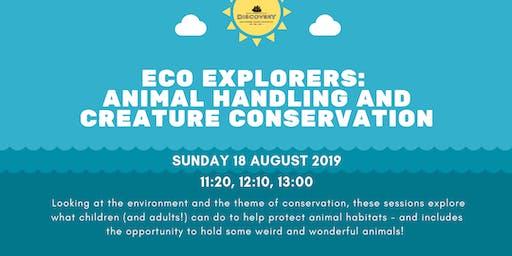 Eco Explorers: Animal Handling + Creature Conservation