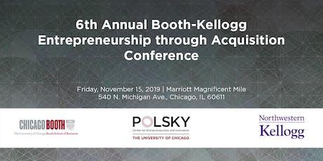 2019 Entrepreneurship through Acquisition Conference tickets