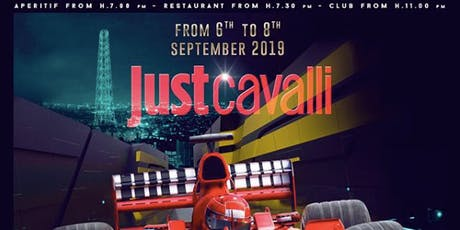 F1 Gp Monza Party at Just Cavalli Milano biglietti