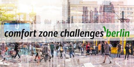 comfort zone challenges'berlin #1 tickets