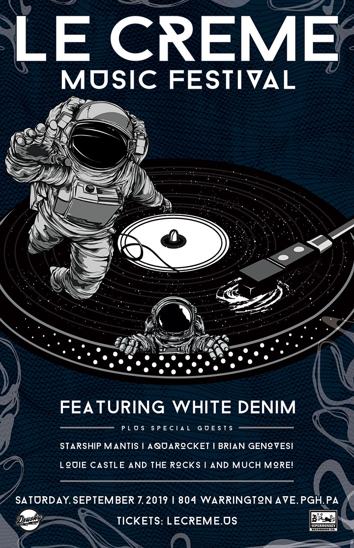 Le Creme Music Festival featuring White Denim image