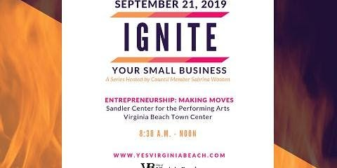 Ignite Your Small Business III: Save the Date!