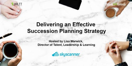 HRLTT - Delivering an Effective Succession Planning Strategy tickets