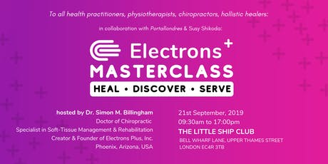 Electrons Plus MasterClass Workshop by Practitioner from USA tickets