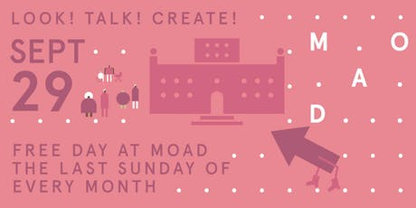 Free Day at MOAD.  Free Family Program  tickets
