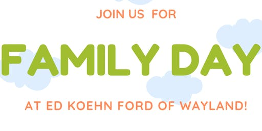 Family Fun Day at Ed Koehn Ford of Wayland