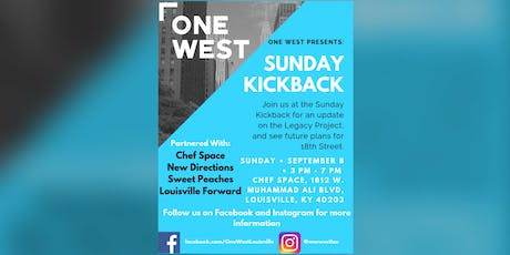 Sunday Kickback tickets
