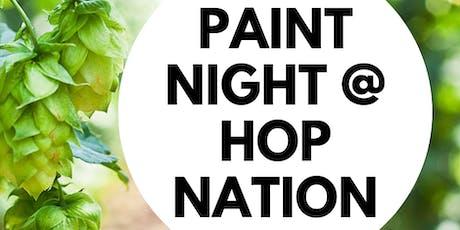 Hello Fall Paint Night @ Hop Nation tickets