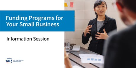 Three SBA Program to Help your Business Grow tickets