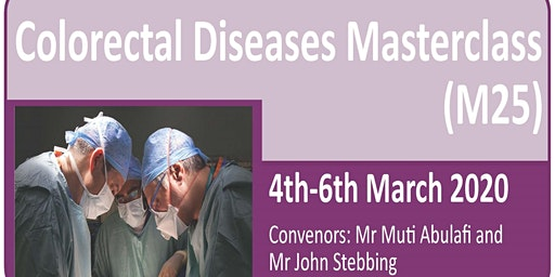 Colorectal Diseases Masterclass 20th Anniversary (M25) 2020