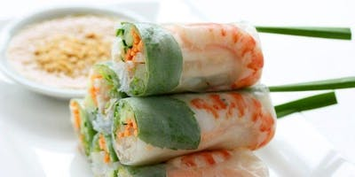 Workshop learn to make some easy and healthy Vietnamese Apero dishes
