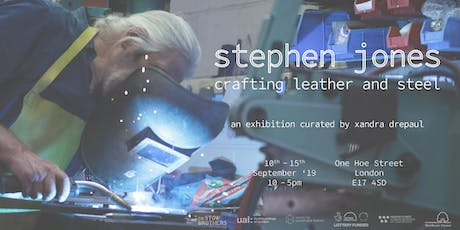 exhibition | stephen jones: crafting leather and steel | private view tickets