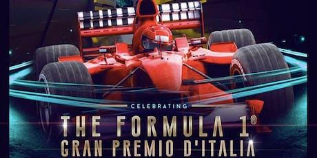 F1 Gp Monza Aperitif and Party at Just Cavalli Milano biglietti