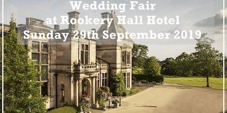 Rookery Hall Hotel Wedding Fair tickets