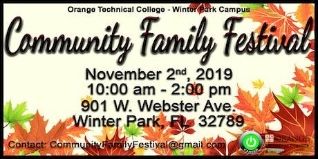 Winter Park Community Festival 2019 tickets