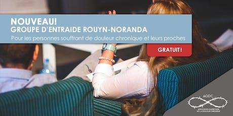 AQDC : Groupe d'entraide Rouyn-Noranda - 9 septembre 2019 billets