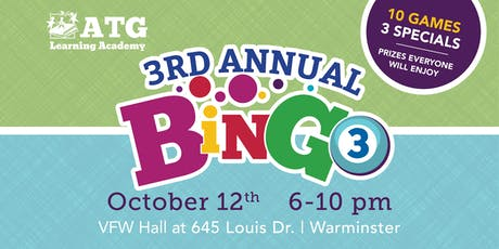 3rd Annual Bingo tickets