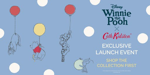 Winnie The Pooh x Cath Kidston Launch Event