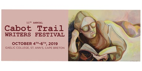 2019  Cabot Trail Writers Festival tickets