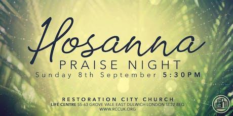 Hossana Praise Night!  tickets