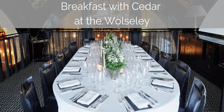 Breakfast at The Wolseley - Environmental Concerns Affecting Heavy Industry tickets