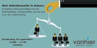 Wet Arbeidsmarkt in Balans: wat wijzigt er?