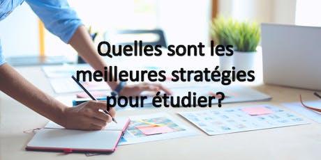 Quelles sont les meilleures stratégies pour étudier? billets