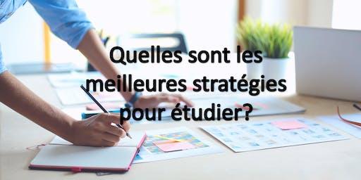 Quelles sont les meilleures stratégies pour étudier?