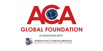 American Citizens Abroad Town Hall Evening Zurich - Tuesday, 17 September 2019