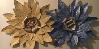 Metal Flower Wall Decor (Make a Wall Flower, Don't Be a Wallflower!)