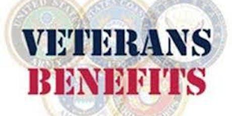 Veteran's Benefits workshop tickets