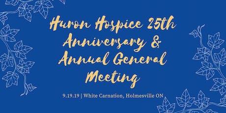Huron Hospice 25th Anniversary Celebration & AGM tickets