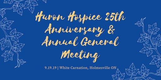 Huron Hospice 25th Anniversary Celebration & AGM