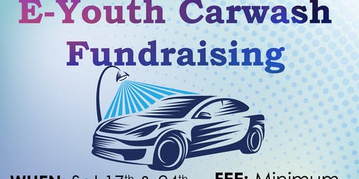 E-Youth Carwash Fundraising