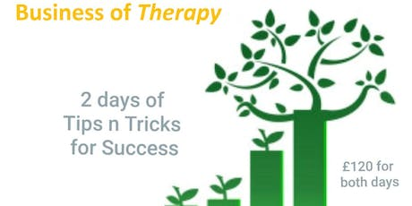 Business of Therapy tickets